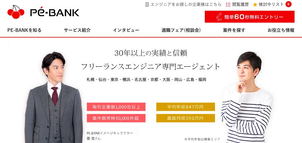 『PE-BANK』の口コミ・評判